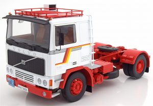Volvo F12 Red and White 1977 Road Kings RK180031