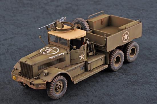 I Love Kit 63502 1:35 U.S M19 Tank Transporter w//Soft Top Cab Plastic Model Kit