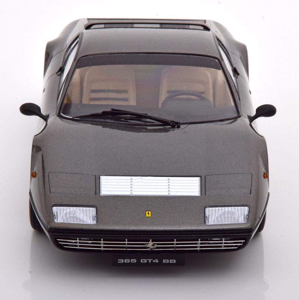 Ferrari 365 Gt4 Bb Gun Metal 1973 KK SCALE 1:18 KKDC180562 Model